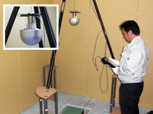 ASTM規格F1292に基づく試験方法