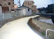 歩道用水性遮熱カラー舗装