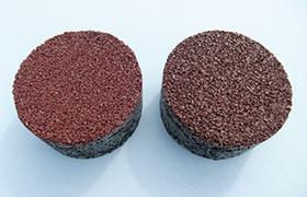 (左)遮熱チップ (右)従来品